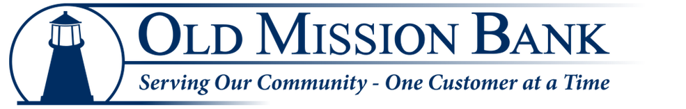 Old Mission Bank Homepage